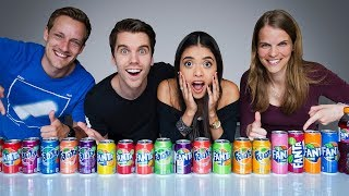 We Tried Every Fanta Flavour And Mixed Them..