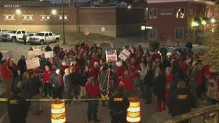 More than a hundred protest Sevier Co. meeting after commissioner's controversial comments