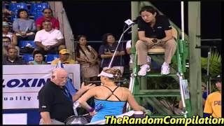 Drama In Women Tennis Compilation Part 1