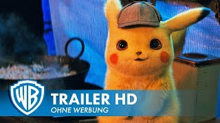 POKÉMON MEISTERDETEKTIV PIKACHU - Offizieller Trailer #1 Deutsch HD German (2019) HD