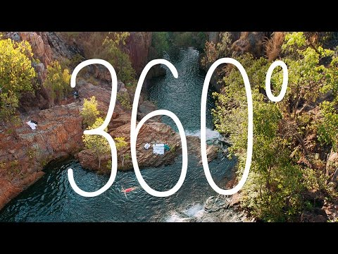 360: Biddlecombe Cascade, Northern Territory