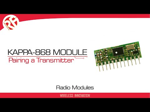 TELEMETRY MODULE IN SMT PACKAGE 868MHZ