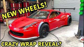 Building A Widebody Ferrari 458 Part 5