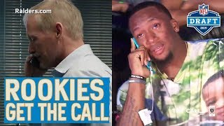 Rookies Get the Draft Phone Call from Their New Team!   2019 NFL Draft