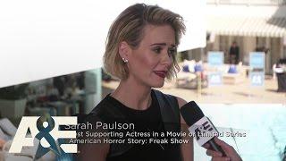 Sarah Paulson on the Red Carpet - 2015 Critics' Choice TV Awards   A&E