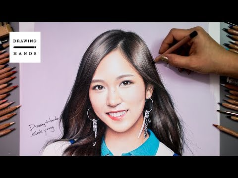 Speed Drawing Twice - Mina [Drawing Hands]