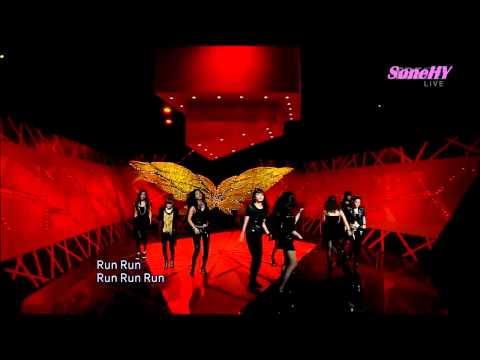 SNSD少女時代-Run Devil Run可愛笑場(Tiffany)