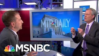 "De Blasio: Biden's Working With Segregationist Is Personal ""For My Wife"" 