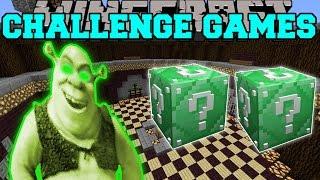 Minecraft: SHREK CHALLENGE GAMES - Lucky Block Mod - Modded Mini-Game