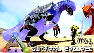 ARK: SURVIVAL EVOLVED - NEW BIONIC THERIZINOSAURUS & PIKACHU !!! E04 (MODDED ARK MYSTIC ACADEMY)