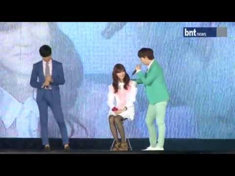 [BNT] 120818 SMTOWN in Seoul - Changkyu's duet to Lucky