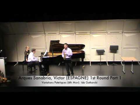 Arques Sanabria, Victor (ESPAGNE) 1st Round Part 1