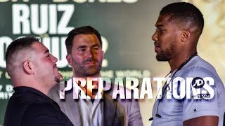THE RELAY: Joshua vs Ruiz 2 strategies & prep, Witherspoon on Usyks power or lack thereof