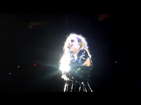 Lady Gaga- Fan Makes Gaga Cry (Cleveland, 04/27/11)