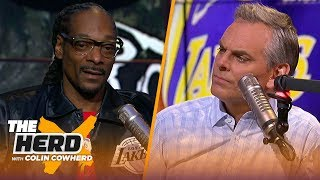 Snoop Dogg discusses his relationship with JuJu Smith-Schuster, shares thoughts on Lakers   THE HERD