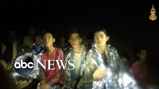 4 boys pulled safely from the cave recovering at a hospital l Thailand Cave Rescue