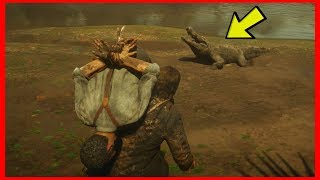 CAN YOU FEED HUMANS TO ALLIGATORS? (Red Dead Redemption 2)