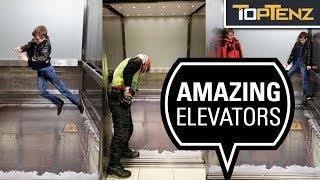10 Extreme and Unusual Elevators Around the Globe
