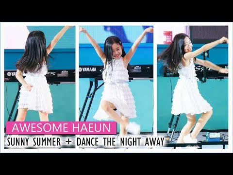 나하은 AWESOME HAEUN | 여름여름해 + DANCE THE NIGHT AWAY cover @ 다이아페스티벌 Filmed by lEtudel