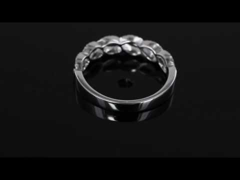 Browns Family Jewellers Diamond Half Eternity Dress Ring