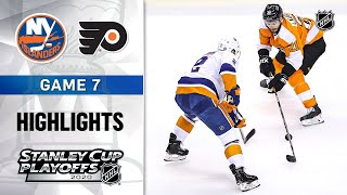 NHL Highlights | Second Round, Gm7 Islanders @ Flyers - Sept. 05, 2020