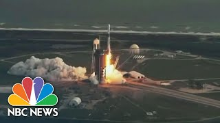 Watch: SpaceX Launches NROL-108 Mission on Falcon 9 Rocket | NBC News
