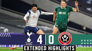 Tottenham Hotspur 4-0 Sheffield United | Extended Premier League highlights | Bale & Son down United