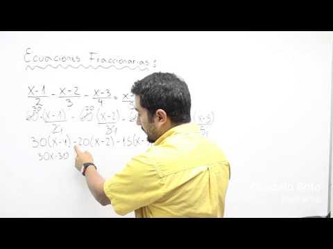 Ecuaciones fra4