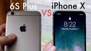 iPhone 6S Plus Vs iPhone X In 2018! (Comparison) (Review) -