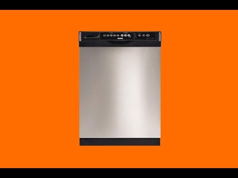 Dishwasher Repair On A Kenmore Elite Replacing The Thermal