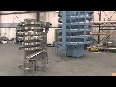 New Alliance Industrial Mini Spiral Conveyor!