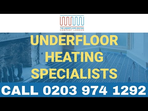 Underfloor Heating Specialist London - #1 For Underfloor Heating Installation & Servicing