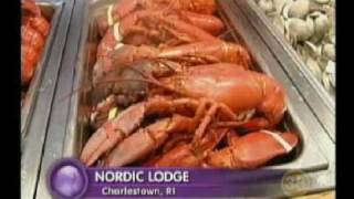 Nordic Lodge, Charlestown RI all You Can Eat Lobster Buffet