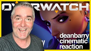 """Overwatch - Animated Short """"Infiltration""""  REACTION"""