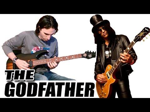 ... Tocar El Padrino (Slash) en Guitarra Eléctrica (The Godfather) TCDG