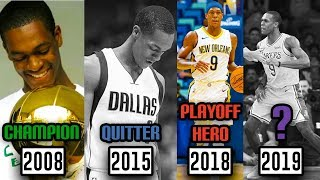 The Story Of The CRAZY NBA Career Of Rajon Rondo