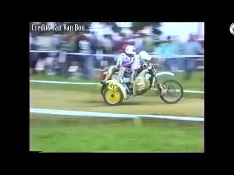 Sidecarcross Grandprix Tsjechoslowakije - Oubenice 1988