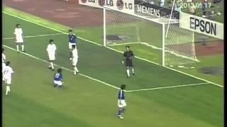 China 1 Japan 3  Asian cup 2004 日本対中国