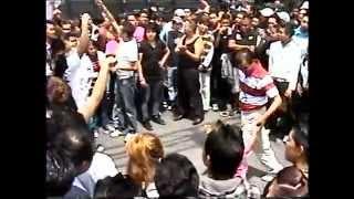 la mejor niña bailarina en Youtube en bailes callejeros en la ciudad de Mexico