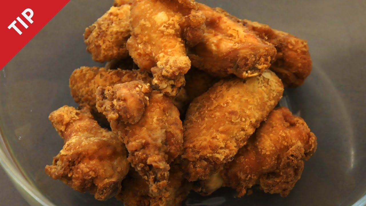 How To Make The Crispiest Fried Chicken Wings Ever Chow