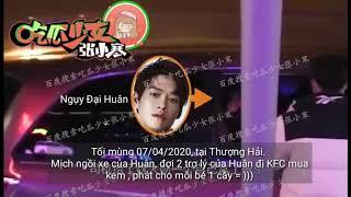 [Vietsub] 07/04/2020 Dương Mịch ngồi xe Ngụy Đại Huân về khách sạn. Cùng ăn kem rất ngọt ngào.
