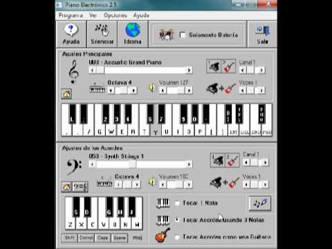 El Regalito Grupo Sombras Piano Electronico