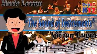 The Sound of Instruments Vivian Lugue K12 Song Music Notation