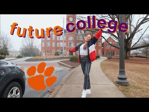 come visit CLEMSON with me