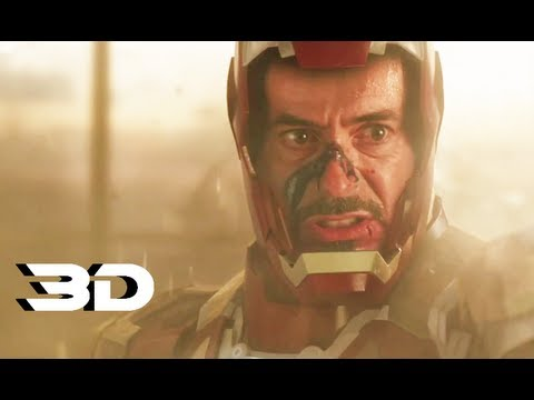 Iron Man 3 - Official Trailer 2 In 3D (2013) Marvel