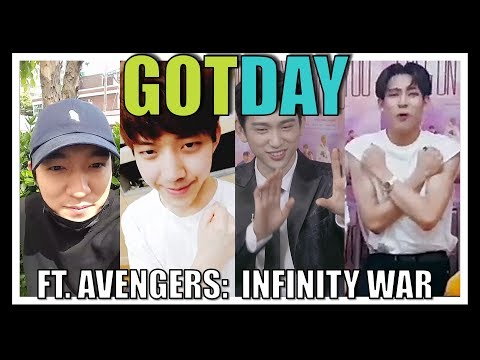 GOTDAY MOMENTS | Obsession with AVENGERS (GOT7 x DAY6)