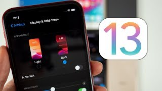 iOS 13 - Hands-on with Dark Mode & New Volume HUD!