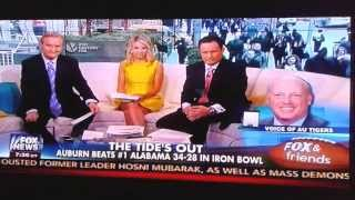 """HOLY COW! Fox News interview with Rod Bramblett """"The Voice Of Auburn Tigers"""""""