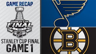 Bruins rally past Blues in Game 1