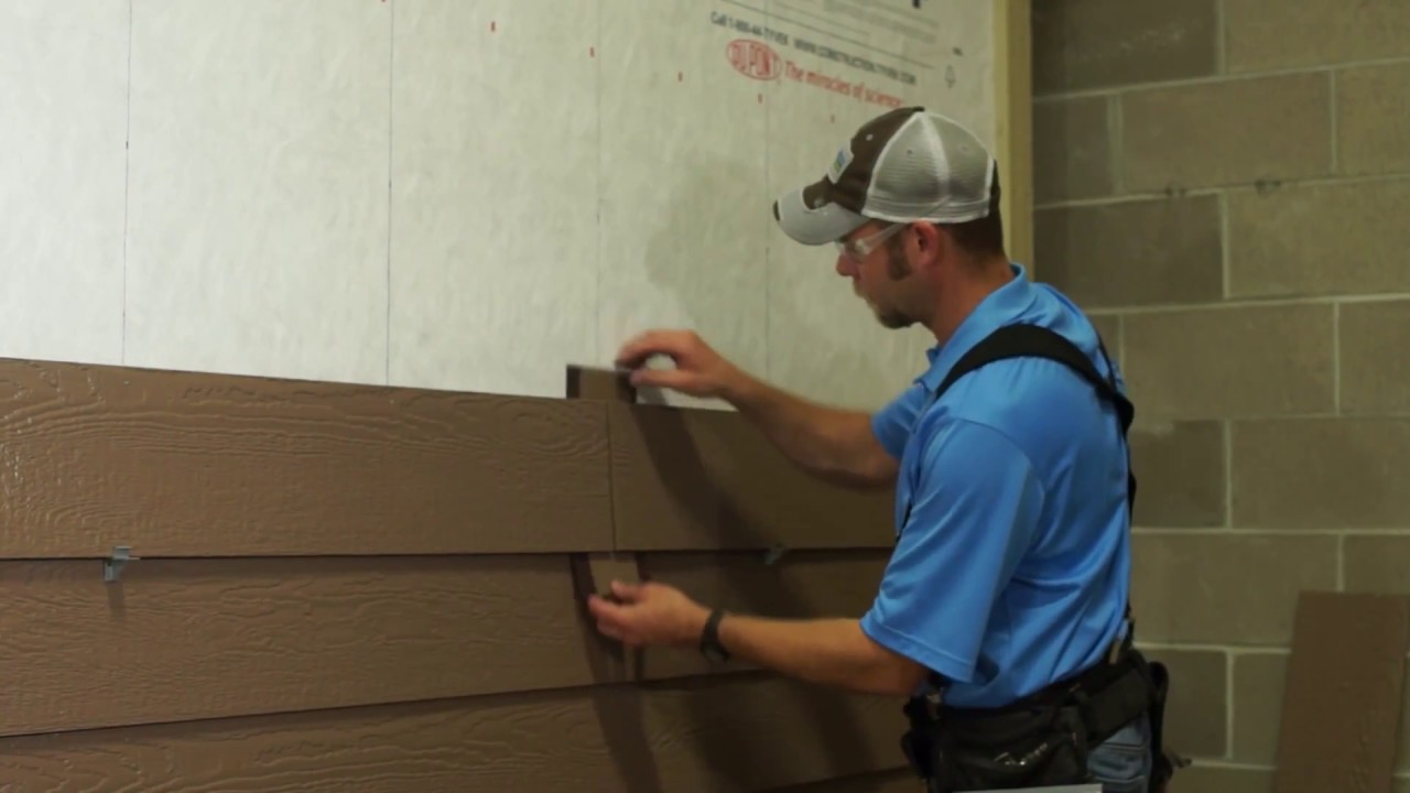 Wausau Siding Systems Lp Smartside Caulkless Butt Joint Installation Youtube